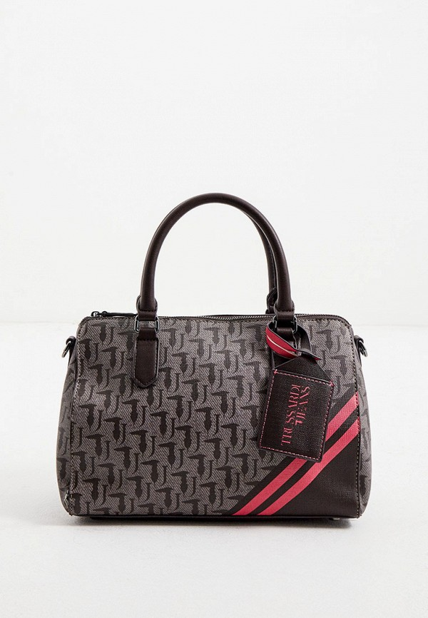 женская сумка trussardi, серая