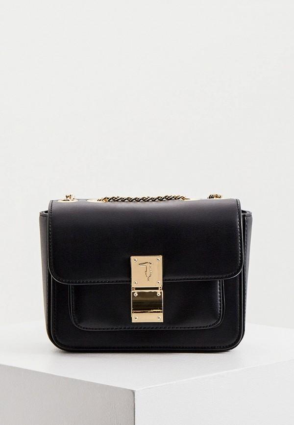 женская сумка trussardi, черная
