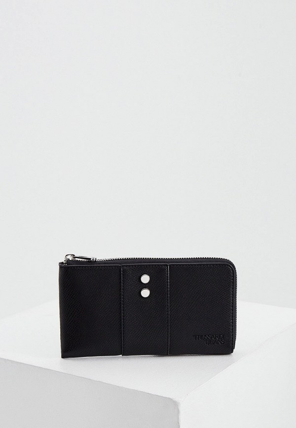 женский кошелёк trussardi, черный