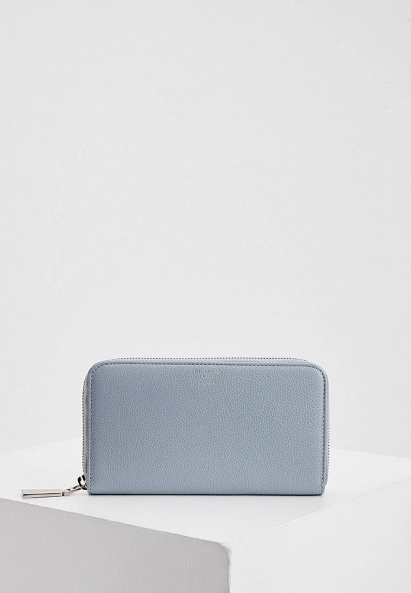 женский кошелёк trussardi, голубой