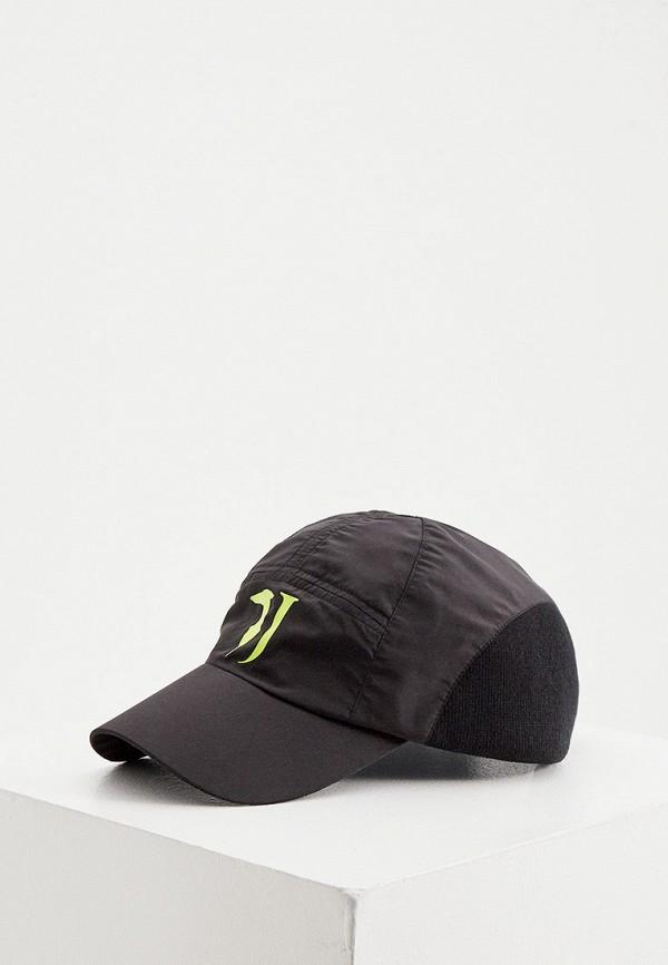 мужская бейсболка trussardi, черная