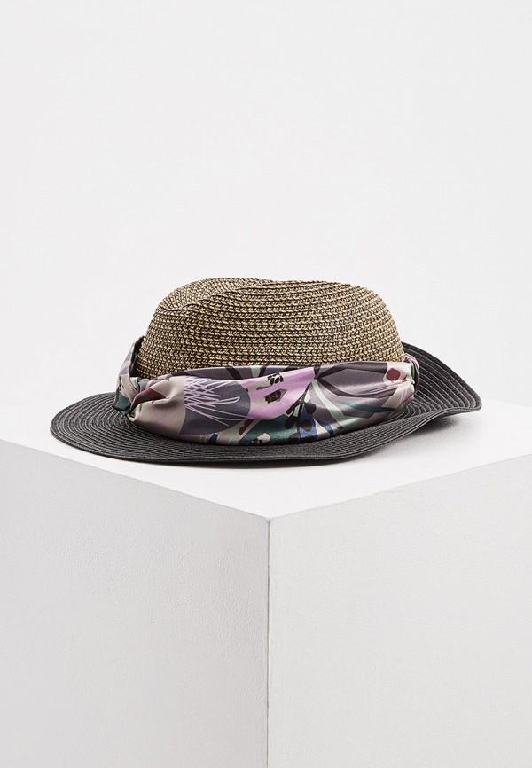 женская шляпа trussardi, коричневая