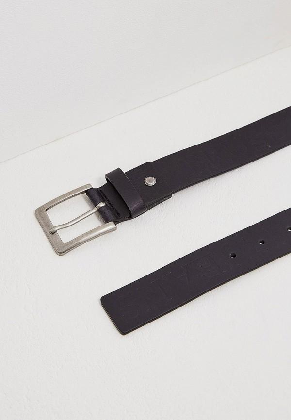 Фото 3 - Ремень Trussardi Jeans черного цвета