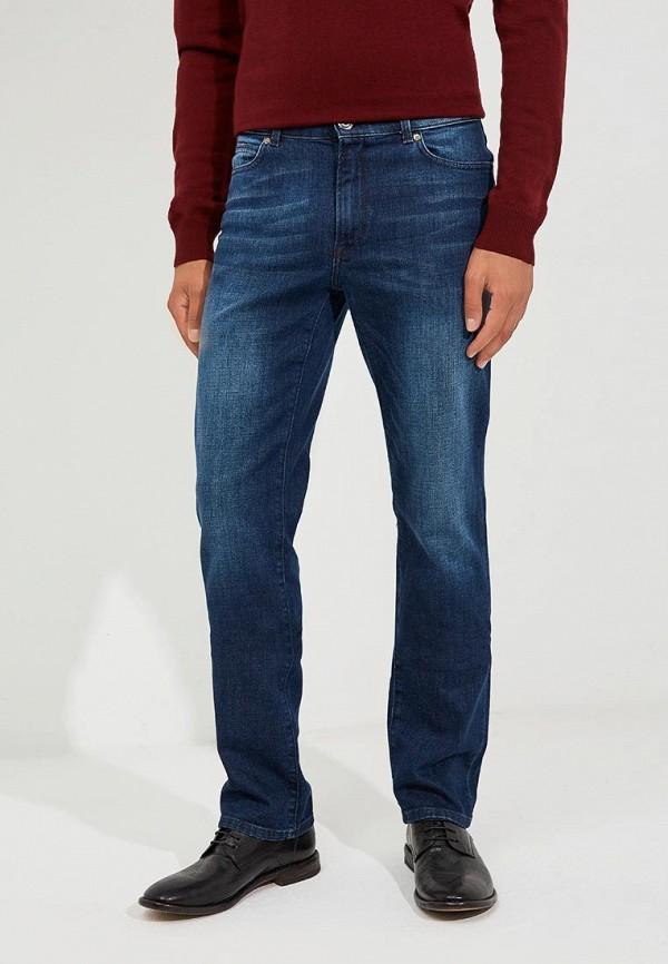 Купить Джинсы Trussardi Jeans, 380 ICON REGULAR FIT, TR016EMBUVI1, синий, Осень-зима 2018/2019