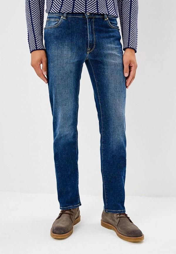 Купить Джинсы Trussardi Jeans, 380 ICON REGULAR FIT, TR016EMBUVI2, синий, Осень-зима 2018/2019