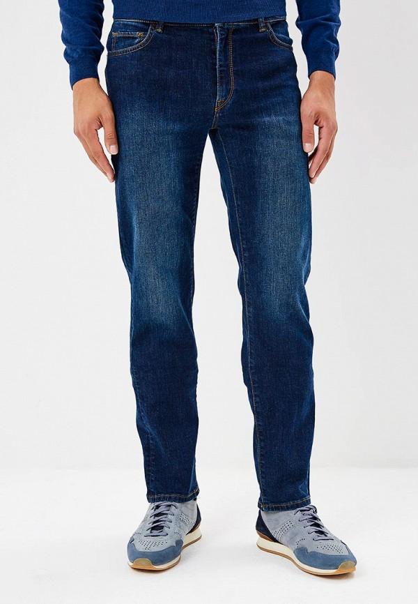 Купить Джинсы Trussardi Jeans, 380 ICON REGULAR FIT, TR016EMBUVI5, синий, Осень-зима 2018/2019