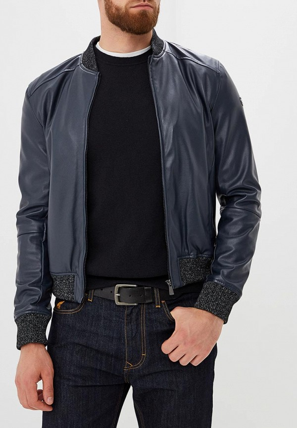 где купить Куртка кожаная Trussardi Jeans Trussardi Jeans TR016EMBUVM9 по лучшей цене