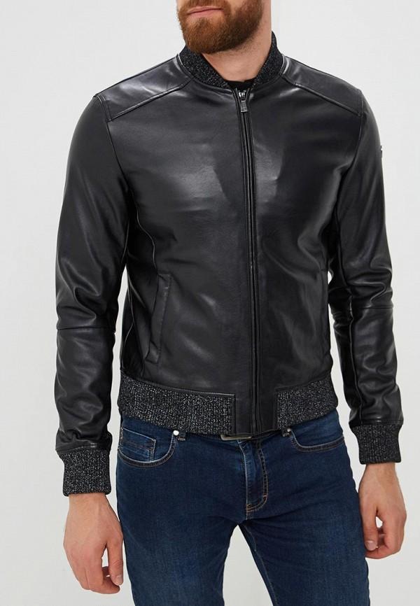 Куртка кожаная Trussardi Jeans Trussardi Jeans 52s00253