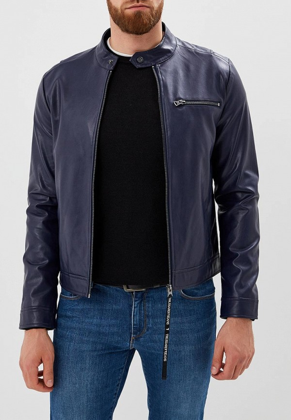 Куртка кожаная Trussardi Jeans Trussardi Jeans 52s00193