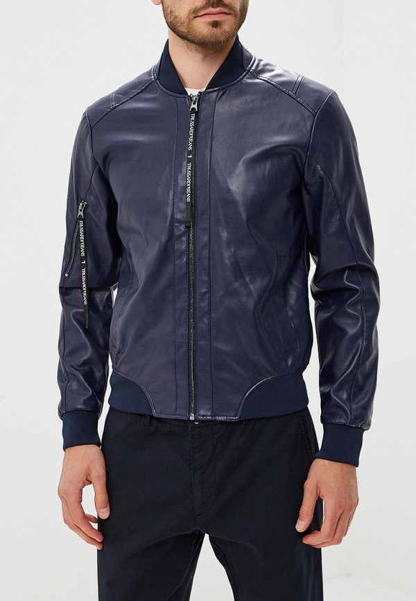 Куртка кожаная Trussardi Jeans Trussardi Jeans 52s00192