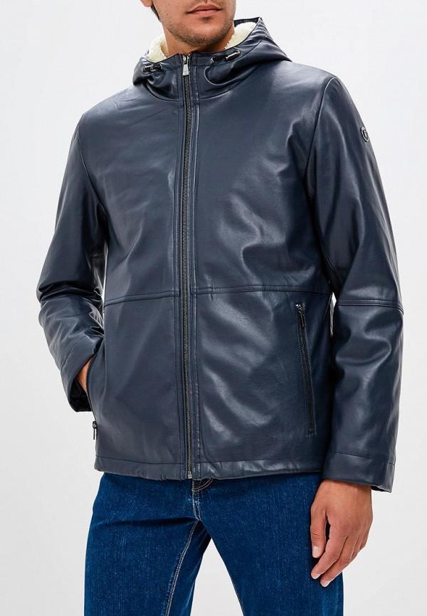 Куртка кожаная Trussardi Jeans Trussardi Jeans TR016EMBUVN5 куртка antony morato mmlc00038 fa200013 9000