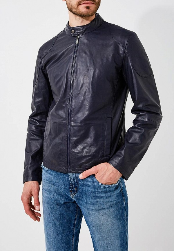 Куртка кожаная Trussardi Jeans Trussardi Jeans TR016EMBUVN7 куртка jupiter куртка