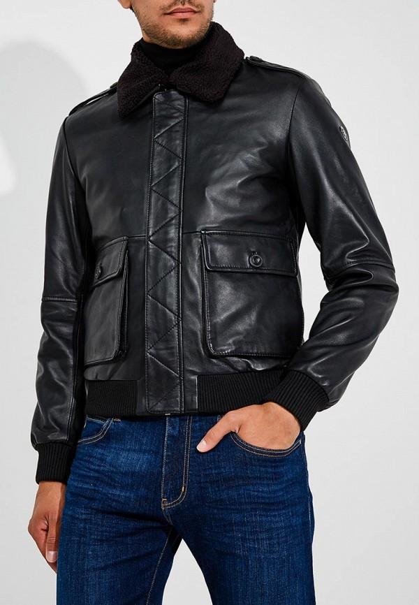 Куртка кожаная Trussardi Jeans Trussardi Jeans TR016EMBUVO1 куртка jupiter куртка