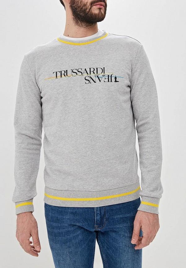 Свитшот Trussardi Jeans Trussardi Jeans TR016EMDOBY6 свитшот trussardi jeans trussardi jeans tr016ewdoch3