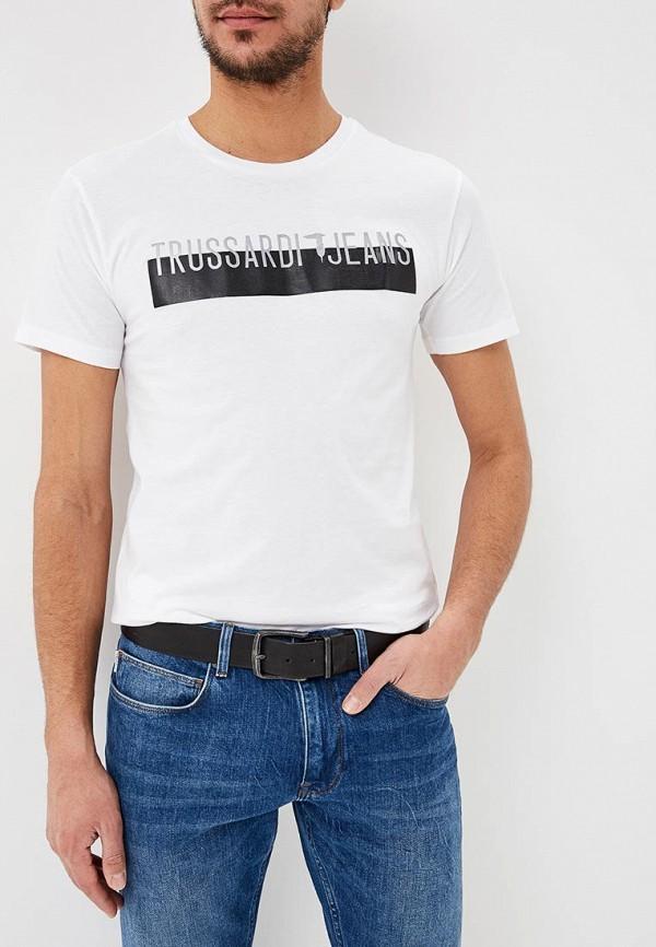 Футболка Trussardi Jeans Trussardi Jeans TR016EMDOCB7 платье trussardi jeans trussardi jeans tr016ewbuvr9