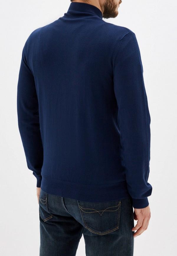 Фото 3 - мужской кардиган Trussardi Jeans синего цвета
