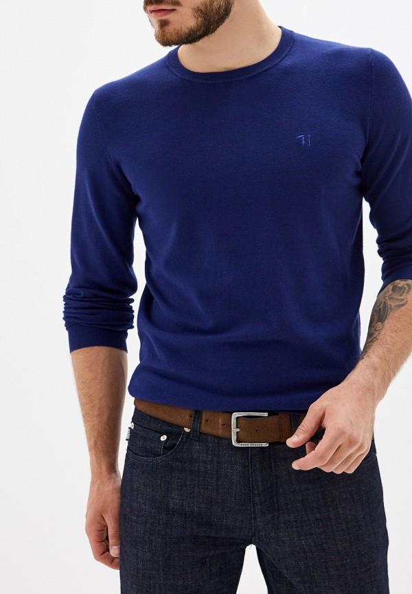 Фото - мужское джемпер Trussardi Jeans синего цвета