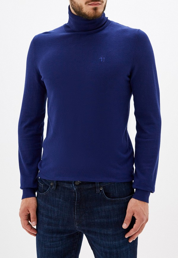 мужская водолазка trussardi, синяя