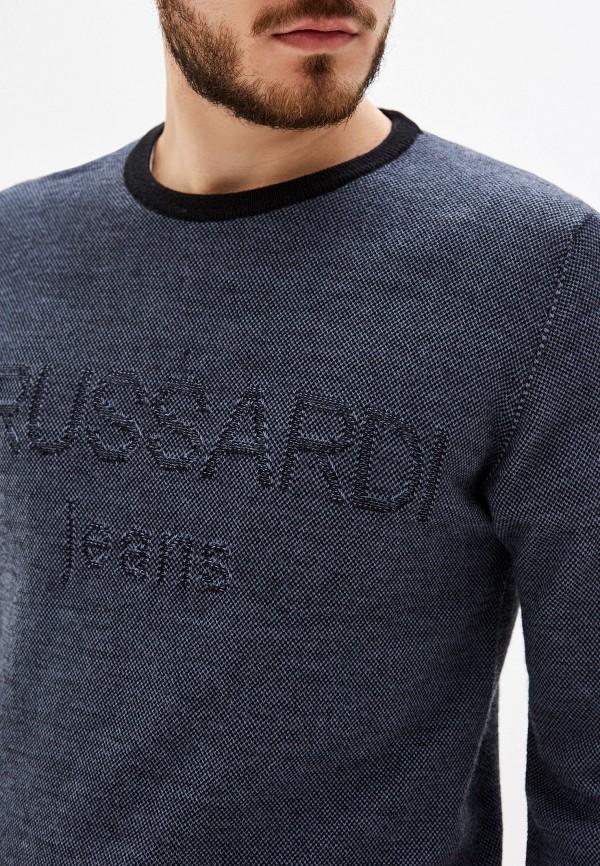 Фото 4 - мужское джемпер Trussardi Jeans синего цвета