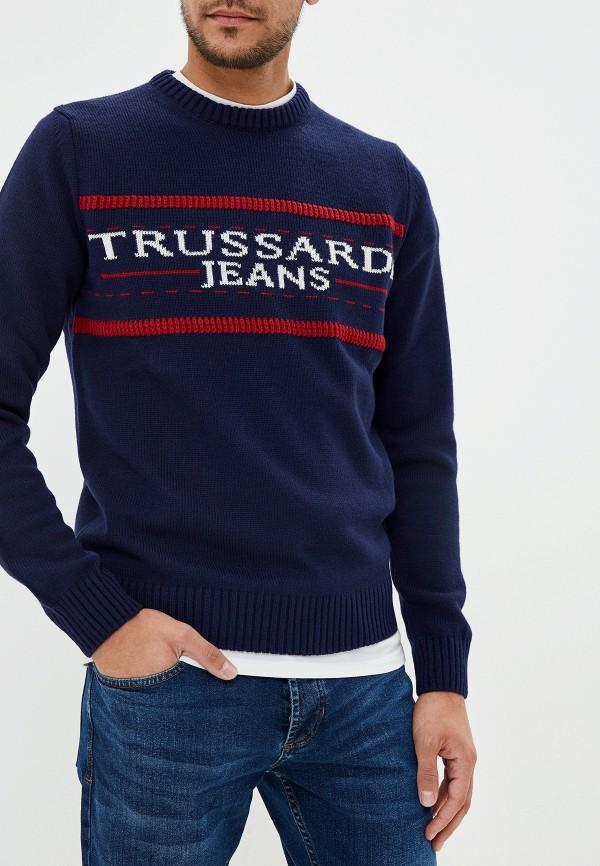 Фото - Джемпер Trussardi Jeans Trussardi Jeans TR016EMFXCW0 джемпер мужской trussardi jeans цвет темно синий 52m00214 0f000328 u290 размер xl 54