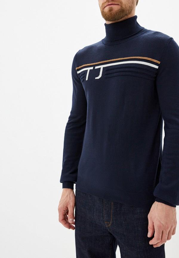 Купить Мужскую водолазку Trussardi Jeans синего цвета