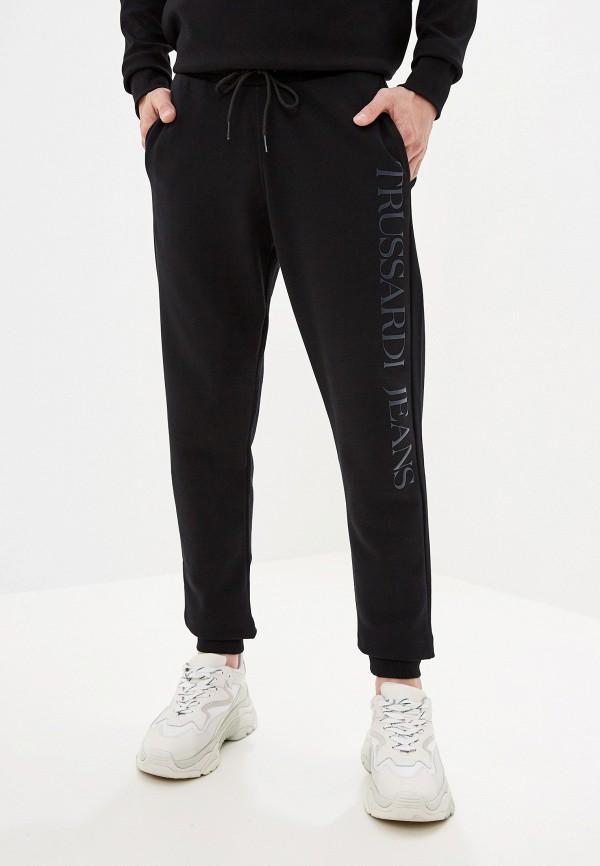 Фото - Брюки спортивные Trussardi Jeans черного цвета
