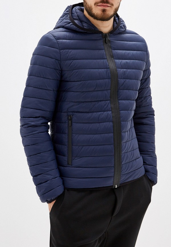 Фото - Куртку утепленная Trussardi Jeans синего цвета