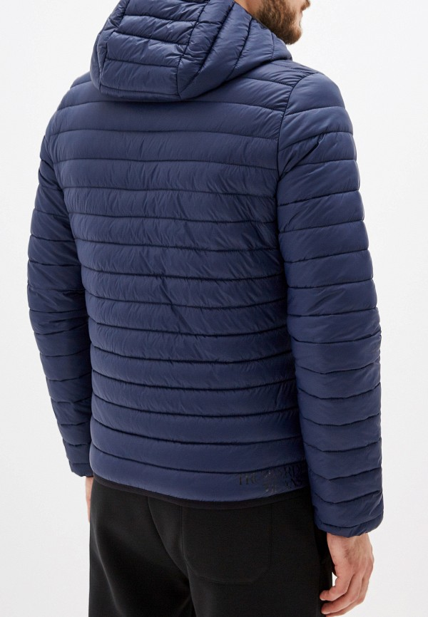 Фото 3 - Куртку утепленная Trussardi Jeans синего цвета