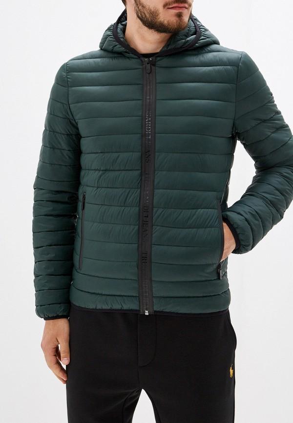Фото - Куртку утепленная Trussardi Jeans зеленого цвета