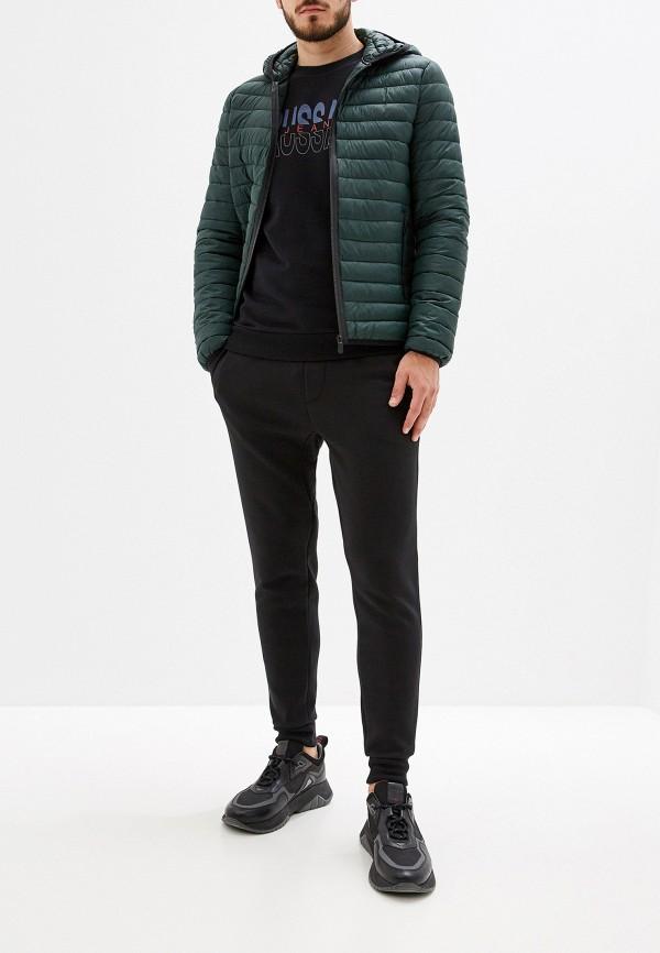 Фото 2 - Куртку утепленная Trussardi Jeans зеленого цвета