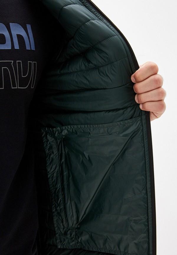 Фото 4 - Куртку утепленная Trussardi Jeans зеленого цвета