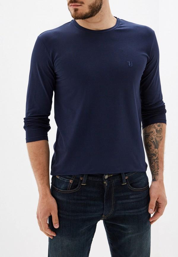 Фото - Лонгслив Trussardi Jeans синего цвета