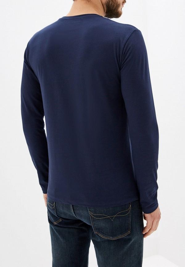Фото 3 - Лонгслив Trussardi Jeans синего цвета