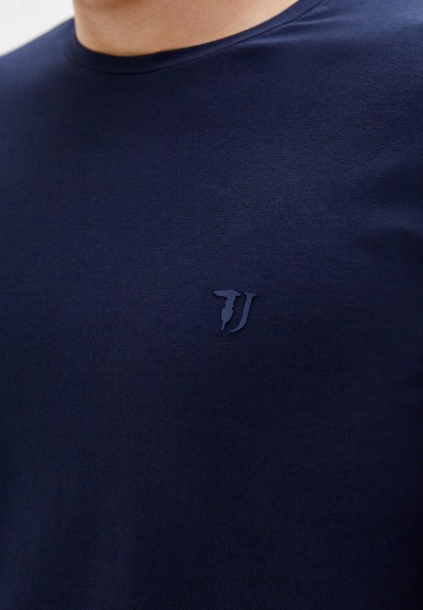Фото 4 - Лонгслив Trussardi Jeans синего цвета