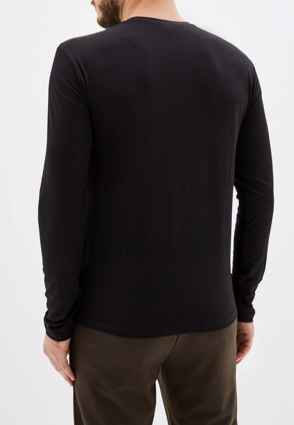 Фото 3 - Лонгслив Trussardi Jeans черного цвета