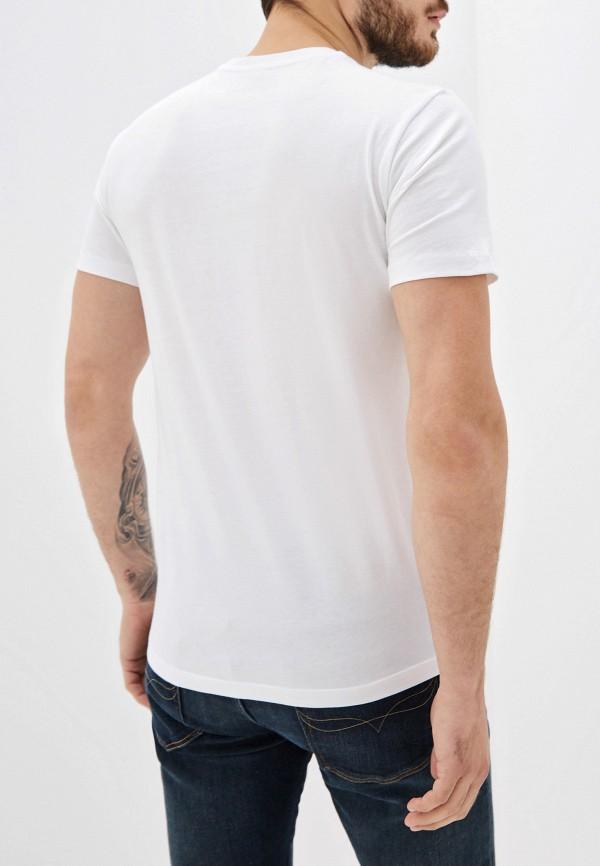 Фото 3 - мужскую футболку Trussardi Jeans белого цвета
