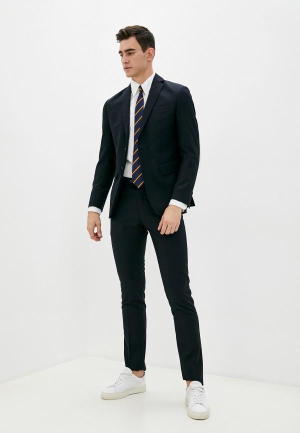 мужской классические костюм trussardi, синий