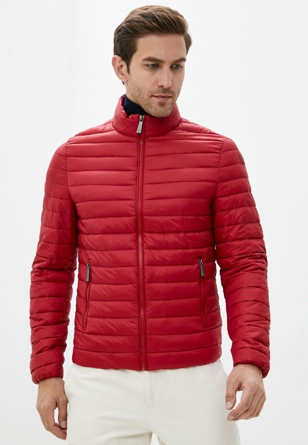 мужская куртка trussardi, красная