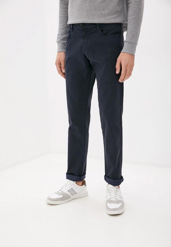 мужские повседневные брюки trussardi, синие