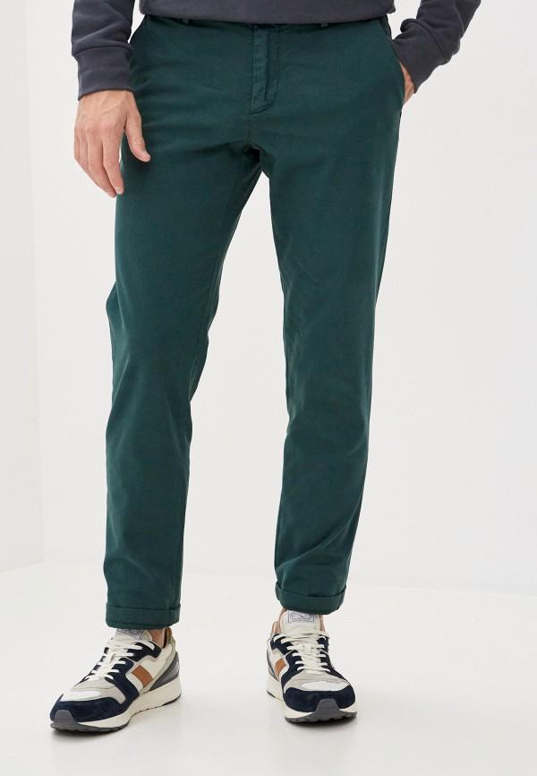 мужские повседневные брюки trussardi, зеленые