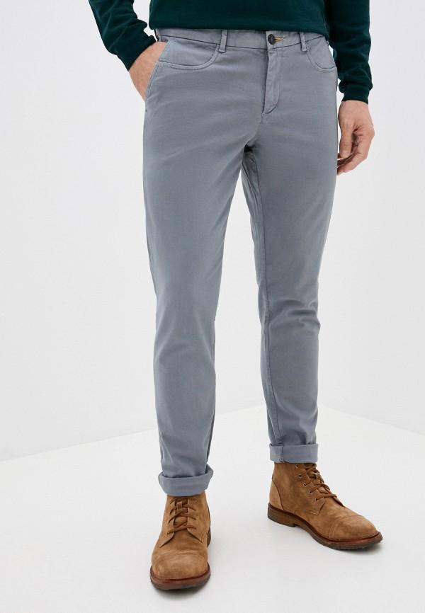 мужские повседневные брюки trussardi, серые