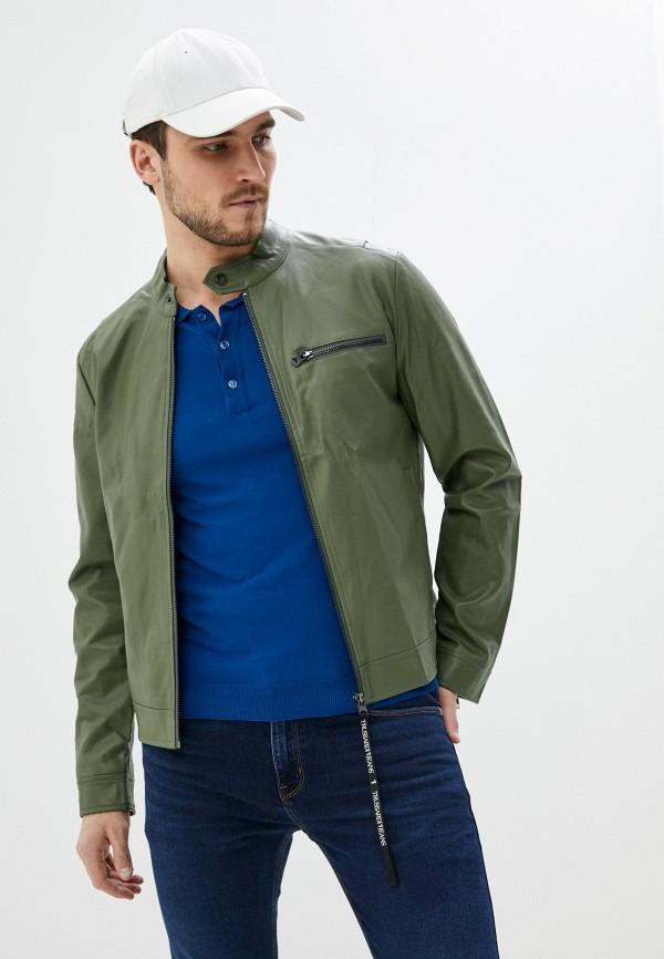 мужская куртка trussardi, зеленая