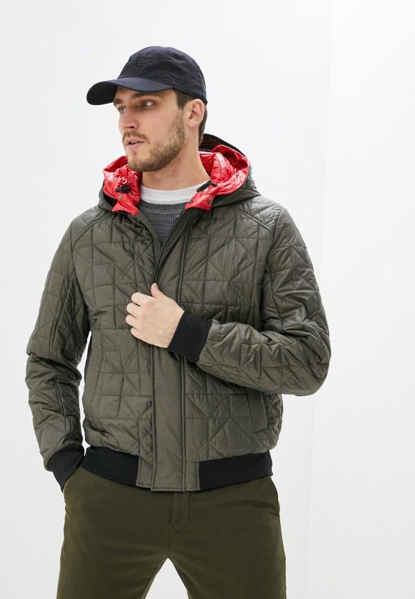 мужская куртка trussardi, хаки