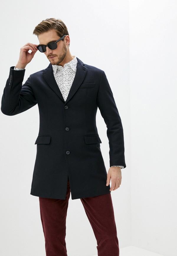 мужское пальто trussardi, синее