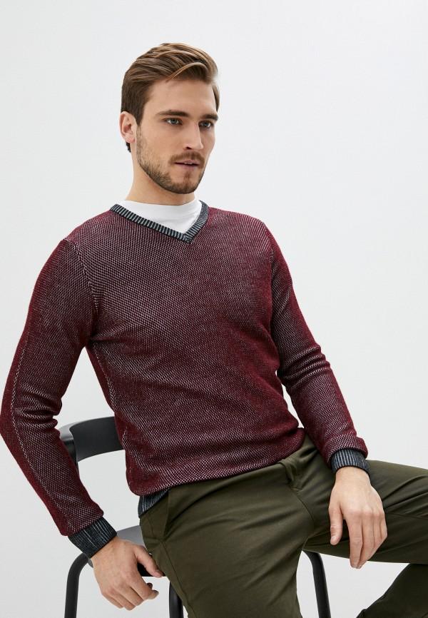 мужской пуловер trussardi, бордовый