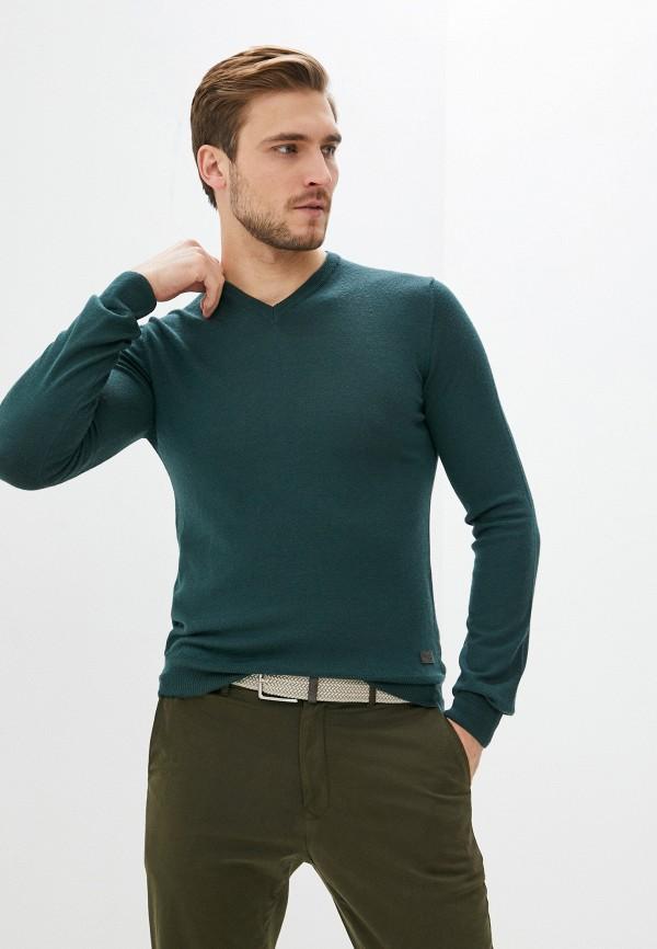 мужской пуловер trussardi, бирюзовый