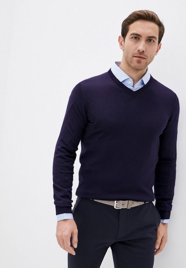 мужской пуловер trussardi, синий