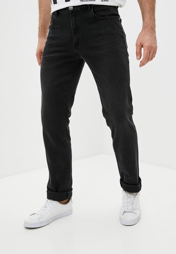 мужские прямые джинсы trussardi, черные