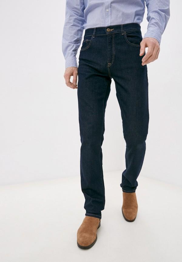 мужские прямые джинсы trussardi, синие