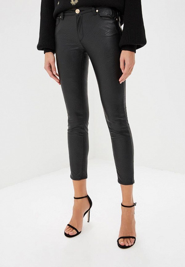 Купить Женские брюки Trussardi Jeans черного цвета